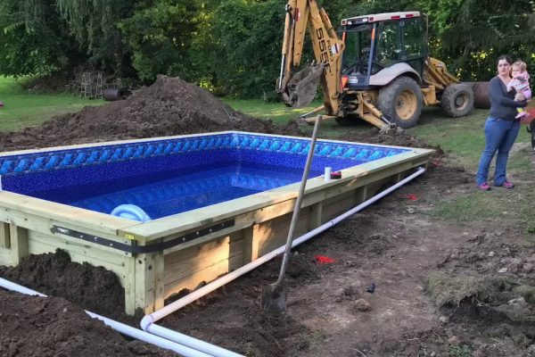 Fiberglass Pool Construction
