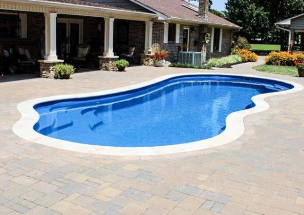 Pool Surround - Pool Deck Installation