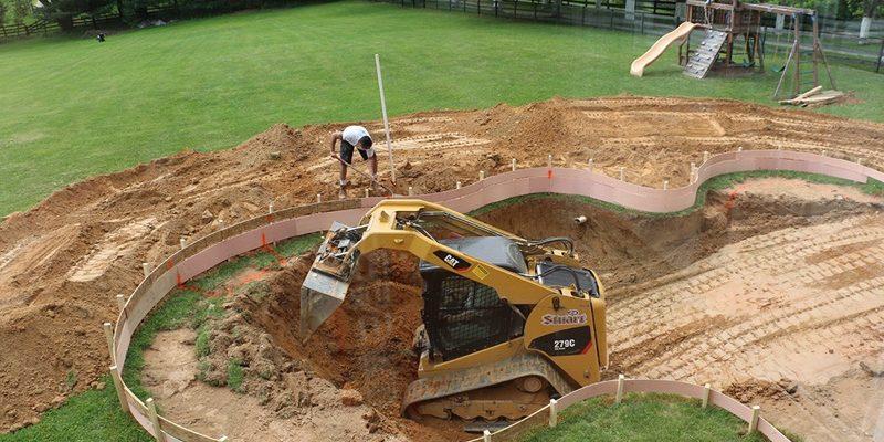 Pool Excavation - Pool Construction